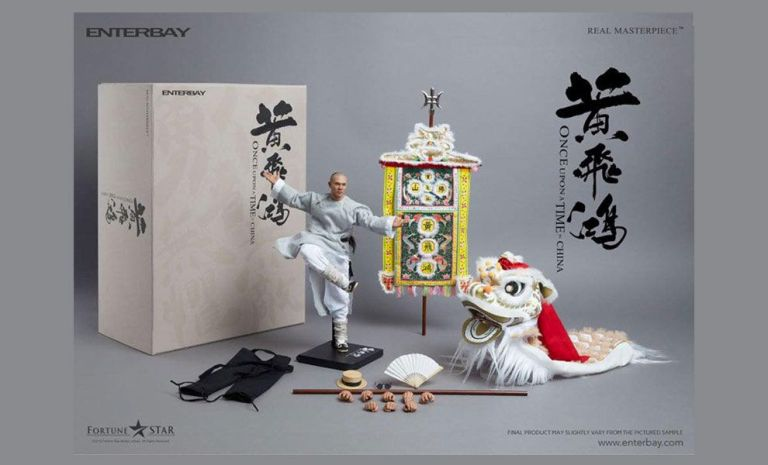 [PO] ENTERBAY RM-1080 ONCE UPON A TIME 1/6 WONG FEI-HUNG 10788