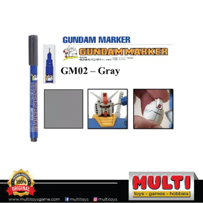 GUNDAM MARKER GM-02 GREY 93582