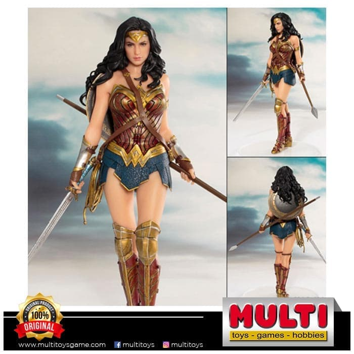 KOTOBUKIYA SV212 JUSTICE LEAGUE WONDER WOMAN 0480987