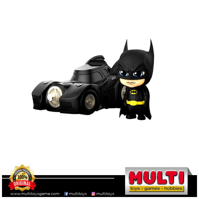 HOT TOYS COSB710 BATMAN WITH BATMOBILE SET 60314