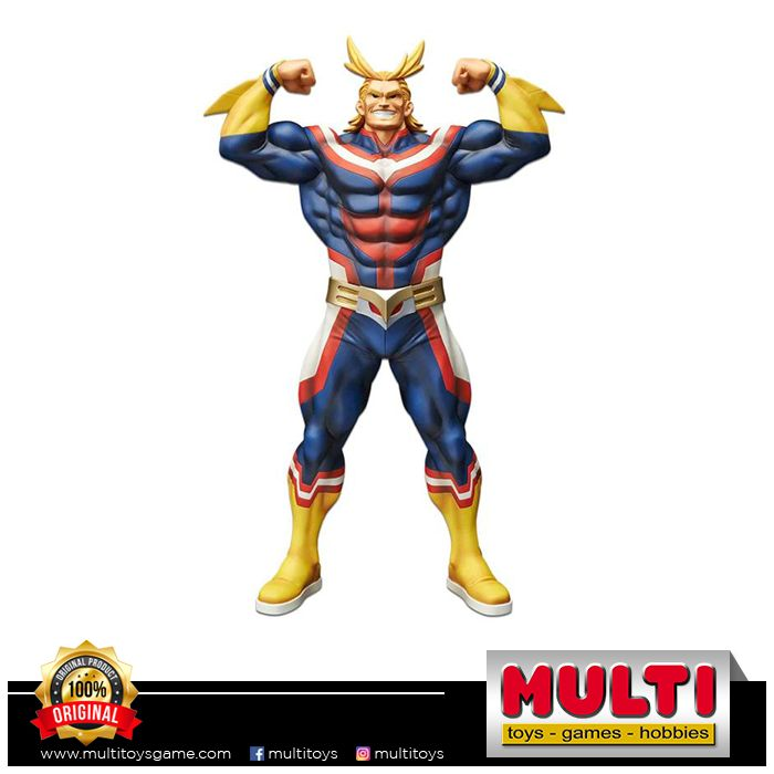 BANPRESTO MY HERO ACADEMIA GRANDISTA ALL MIGHT MANGA 16114