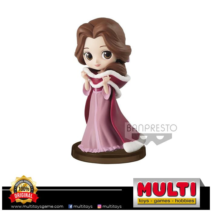 BANPRESTO DISNEY QPOSKET PETIT STORY OF BELLE (C) 16237