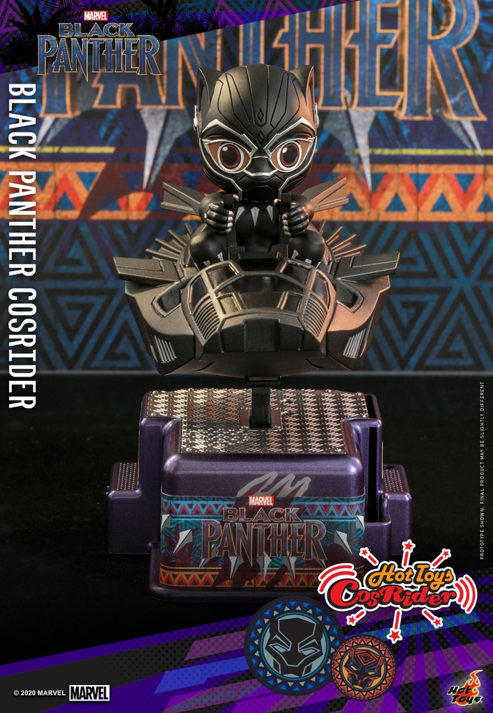 [Closed PO] HT CSRD009 Black Panther CosRider 60561
