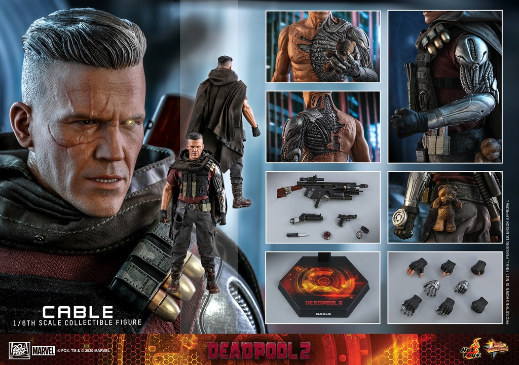 [Closed PO] HT MMS583 DEADPOOL 2 1/6TH SCALE CABLE COLLECTIBLE FIGURE 60588