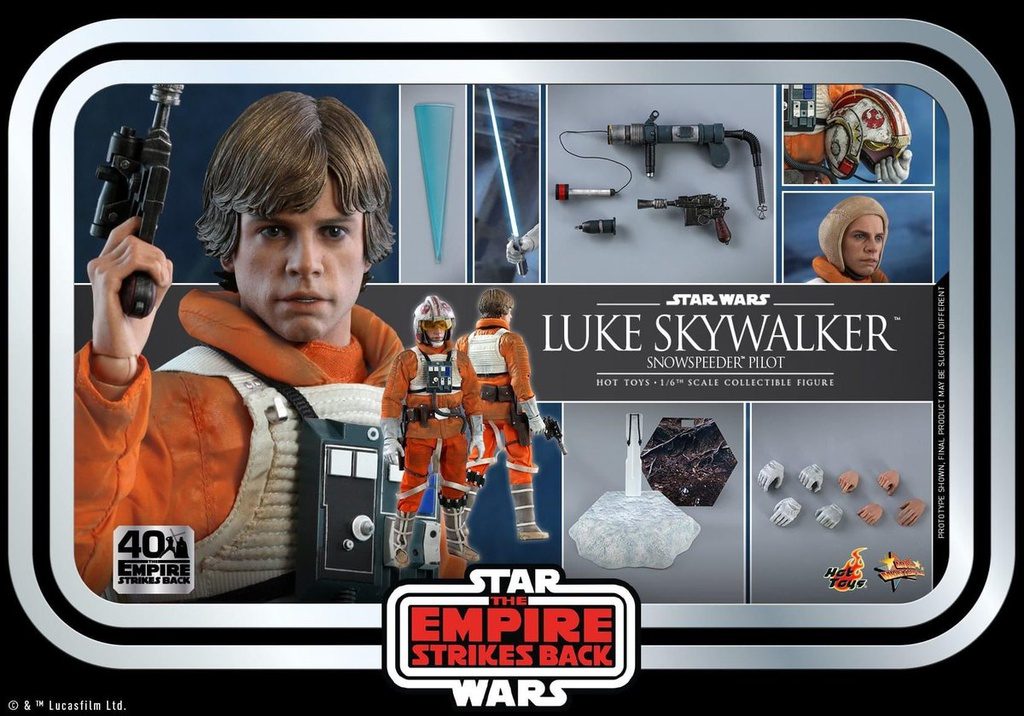 [Closed PO] HT MMS585 SW:EPISODE V THE EMPIRE STRIKE BACK 1/6TH (SNOWSPEEDER PILOT) 40TH ANNIVERSARY 60597