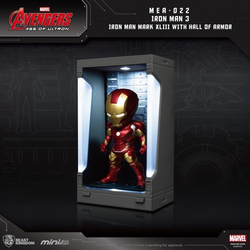 [PO] BK MEA-022 Avengers: Age of Ultron Iron Man Mark XLIII with Hall of Armor 14050