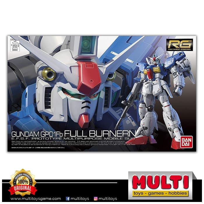 GUNDAM RG FULL BURNERN 1/144 82655/TB