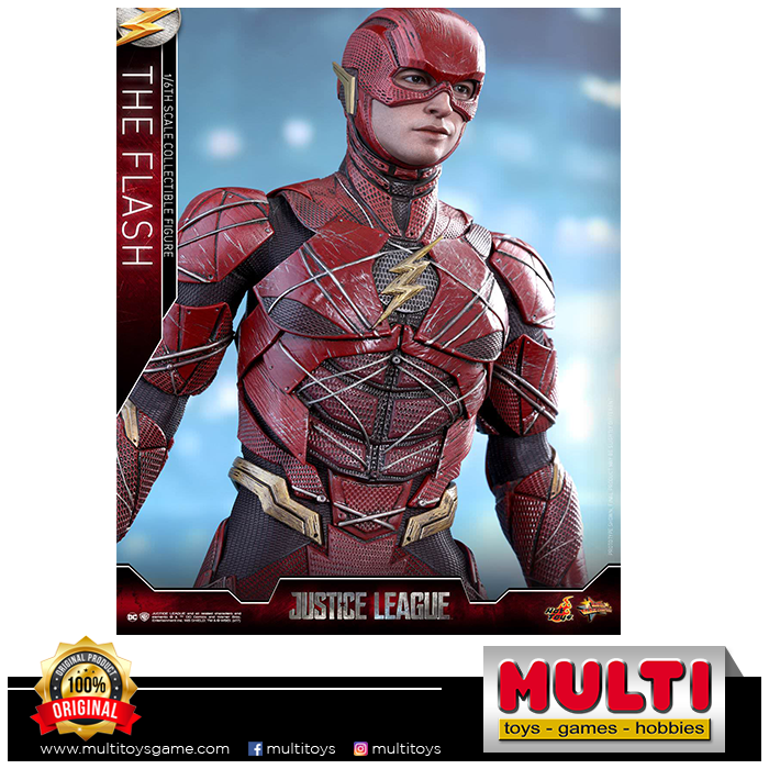 HOT TOYS MMS 448 JUSTICE LEAGUE THE FLASH 18445