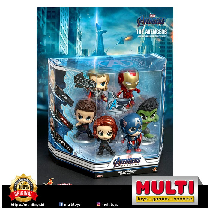 HOT TOYS COSB787 THE AVENGERS SET 60484