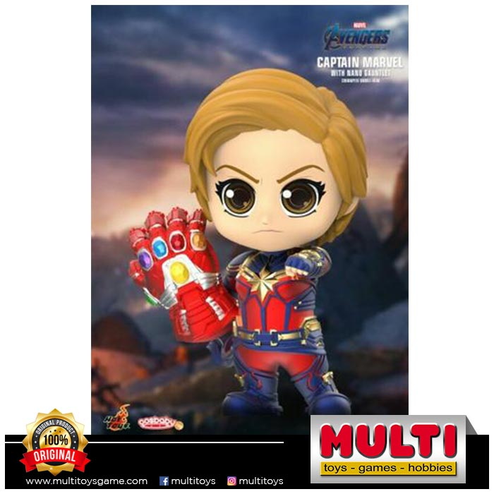 HT COSB680 CAPTAIN MARVEL WITH NANO GAUNTLET 60241