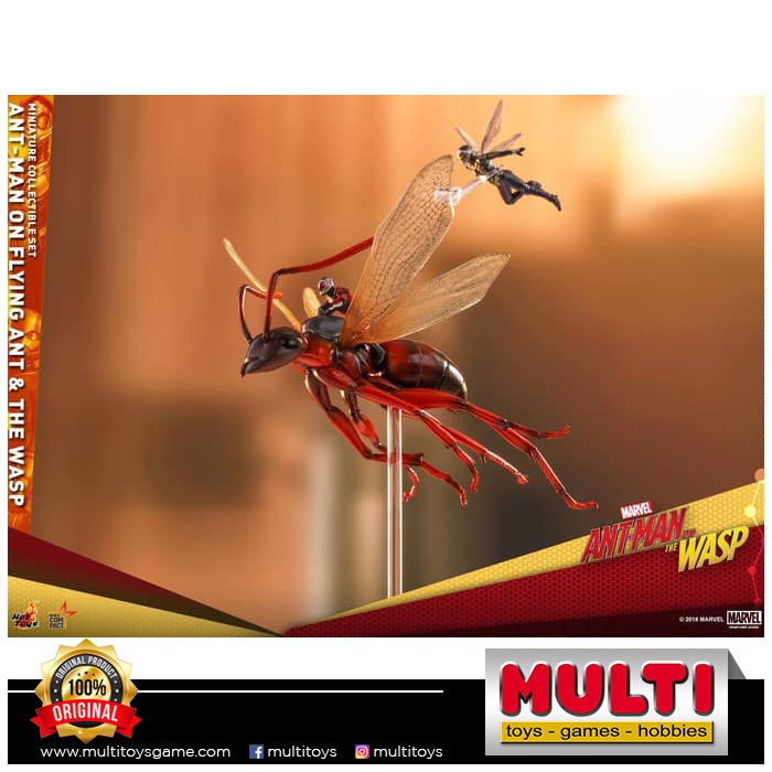HT MMSC004 ANTMAN ON FLYING ANT&THE WASP SET 18641