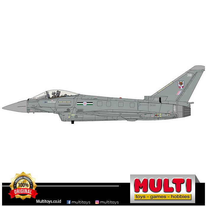 HOBBY MASTER HA6650 1:72 EUROFIGHTER TYPHOON FGR4 ZK36 41291
