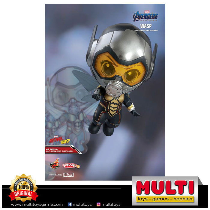 HOT TOYS COSBABY 568 AVENGERS ENDGAME WASP COLL SET 18829