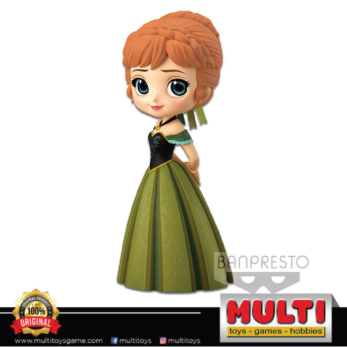QPOSKET DISNEY ANNA CORONATION STYLE NORMAL (A) 35649