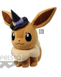 [Closed PO] POKEMON HALLOWEEN BIG PLUSH~EEVEE 16687-3-B