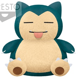 [Closed PO] POKEMON BIG ROUND PLUSH「LICK」~SNORLAX 16686-6-C