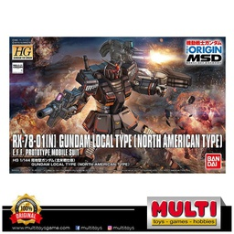 GUNDAM HG GTO 017 RX-78-01[N] LOCAL TYPE 0479807