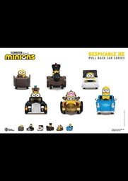 [PO] BK DESPICABLE ME SERIES PULL BACK CAR SET OF 6 07938
