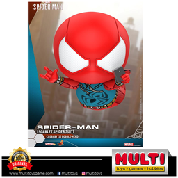 HOT TOYS COSBABY 620 SPIDERMAN SCARLET SPIDER SUIT