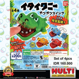 GASHAPON CROCODILE DENTIST SWING 46673(2)