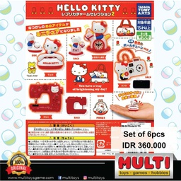 T-ARTS GACHA HELLO KITTY REPLICA CHARM 2 88103(3)
