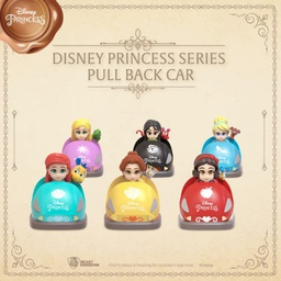 [PO] BK DISNEY PRINCESS SERIES PULL BACK CAR SET 6 PCS 15126