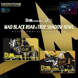 [PO] DIM CARD SET VOL.5 MAD BLACK ROAR & TRUE SHADOW HOWL 71039