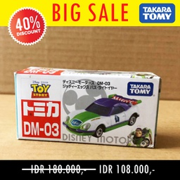 CAR TOMY DISNEY DM-03 JITTER TEA X BUZZ